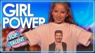 Fantastic Female Magicians On Got Talent Around The World  Top Talent