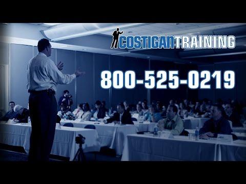 Review John Costigan Sales Training Certification Milwaukee WI