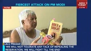 Modi Has Done Nothing For Bihar, Trying To Conquer It: Lalu Prasad Yadav