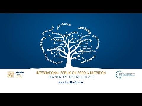 International Forum on Food and Nutrition - New York, September 28