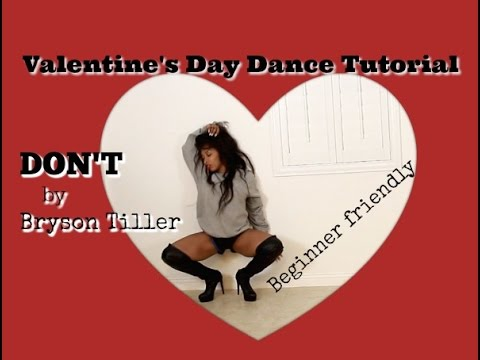 Don't (Bryson Tiller) Sexy Valentine's Day Tutorial For Beginners with Keaira LaShae