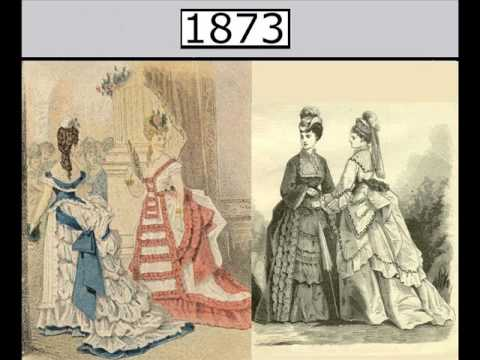Women's fashions year by year: 1795 to 1948
