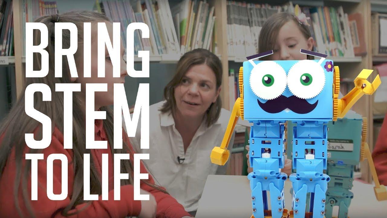 Meet Marty the Robot