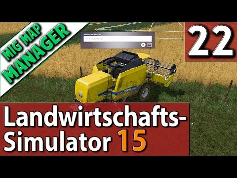 LS15 MMM #22 Verwirrter Gada und glückliche Tiere Mig Map Manager deutsch HD