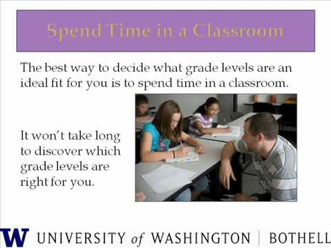 Choosing to Teach in Washington state