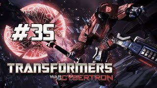 Transformers War for Cybertron Walkthrough - Part 35 [Chapter 9] Orbital Gun Let's Play