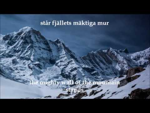 Vintersorg - Fjällets Mäktiga Mur (English Translation) mp3
