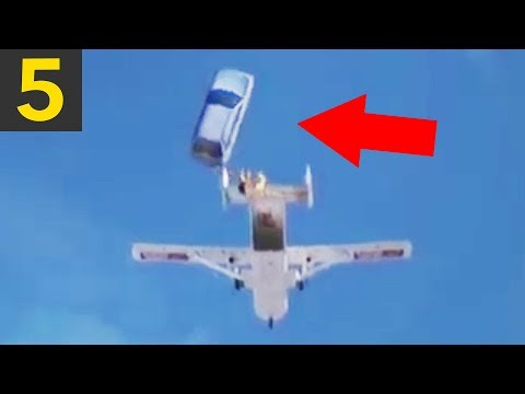 Top 5 Largest Objects Ever Dropped - (by humans)