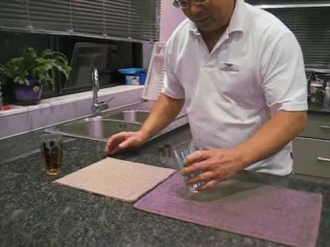NZ Cleaning Services Ltd...MicroSeal Carpet and Fabric Protection Demo