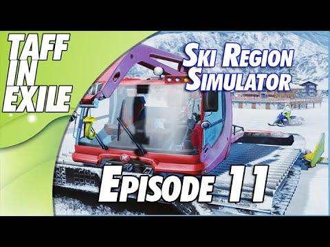 Ski Region Simulator - Road clearing and Station Upgrades!