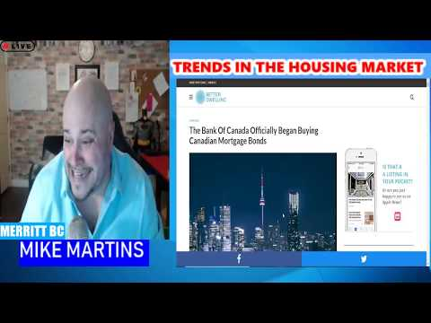 TRENDS IN THE HOUSING MARKET  - KABOOM !!!