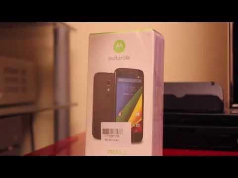 Motorola MOTO G (1st Generation) 4G - Unboxing