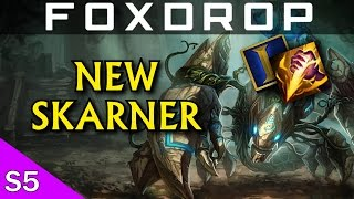 [PBE] New Skarner Update! Full Gameplay - League of Legends