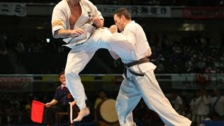 新極真会 The 11th World Karate Championship 4 Round1 Valeri Dimitrov Vs Ferran Gandia