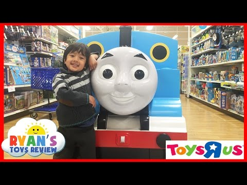 "TOYS ""R"" US Shopping Thomas and Friends, Batman vs. Superman, toy cars matchbox ,Sand Box, legos!"