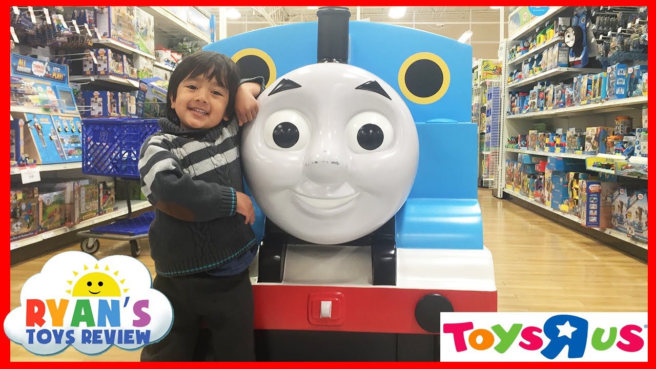 TOYS R US Shopping For Thomas And Friends Disney Cars Toys