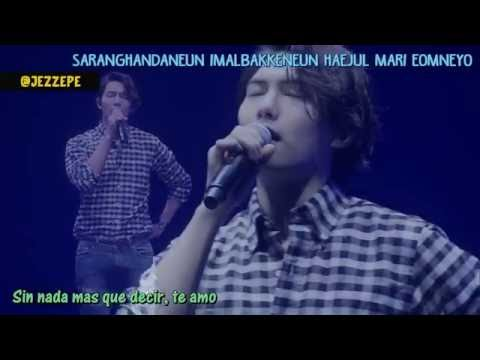 Lee Jong Hyun (CNBLUE) - I love you [roman + sub español]