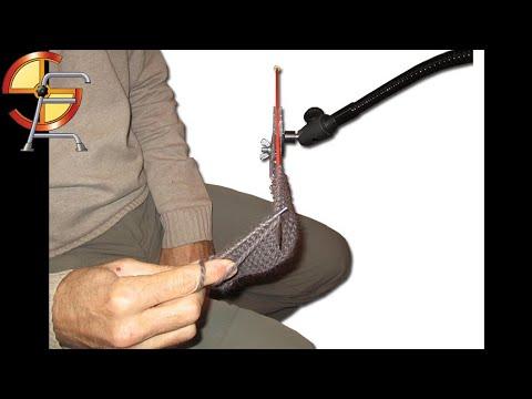 tricoter a une seule main