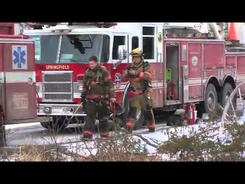 Springfield Illinois Firefighters Christmas Card 2014