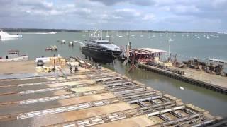 Princess Yachts Repaint Project @ Solent Refit