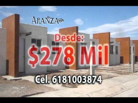 Kingcasa casas economicas durango fracc aranza youtube for Casas en renta en durango baratas