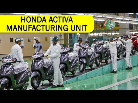 Honda Activa Worlds Largest Two Wheeler Manufacturing Plant