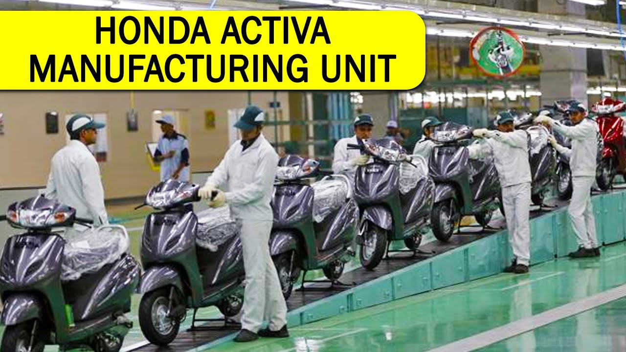Honda Activa Worlds Largest Two Wheeler Manufacturing Plant | Auto on