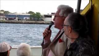 New York Harbor tour, part 1: East River, Lower Manhattan, Brooklyn, Red Hook cruise terminal