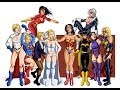 DC/Marvel Girls - Sexy Naughty Bitchy