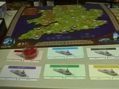 Railways of England and Wales - with Tom Vasel