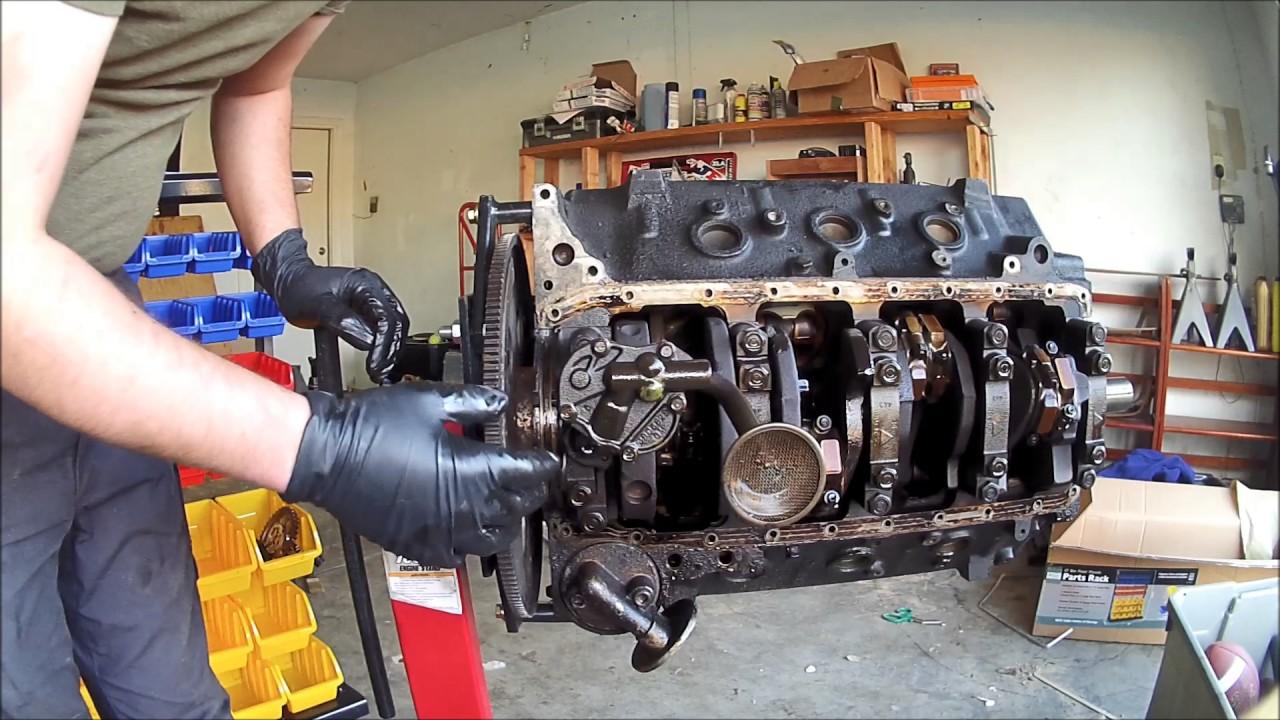 chevy engine rebuilt