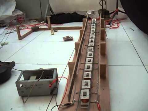 Model Train Prototype Using Linear Synchronous Motor Youtube