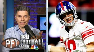 Can Eli Manning help Daniel Jones' development with Giants? | Pro Football Talk | NBC Sports