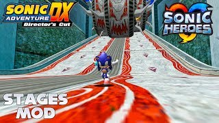 Sonic Adventure DX (PC) - Heroes Stages Mod (v.2.1) - Showcase