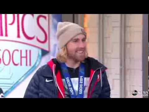 Snowboarder Sage Kotsenburg Team USA Wins Gold in 1st Ever Men's Slopestyle Event Sochi Olympic 2014