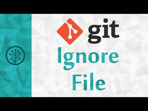 Version Control] How To Use Gitignore To Ignore A File Or