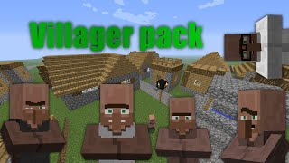 Minecraft Villager resource pack 1.0
