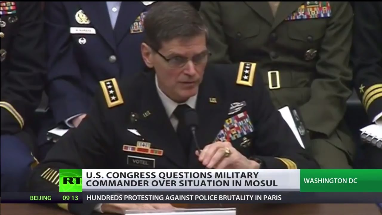 'Difficult to apply high standards although we'll try' – US military chief on situation in Mosul