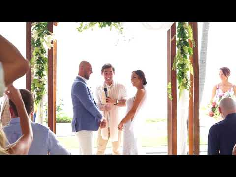 Bali Wedding Celebrant - Arnold for Massimo and Aimee Wedding PART I