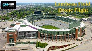 Aerial Views of Lambeau Field | Green Bay Packers 2021