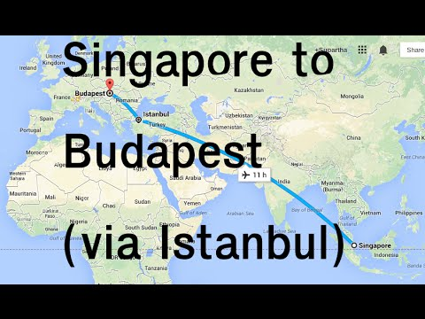 Singapore to Budapest via Istanbul (Turkish Airline - TK67 & TK 1035)