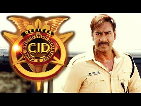 Singham aka Ajay Devgn Meets CID Team