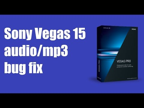 Fix Audio/mp3 Vegas 15