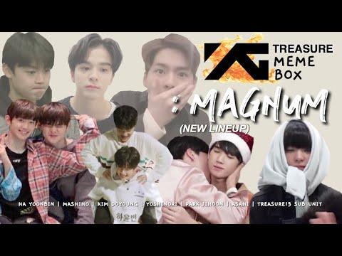 YG TREASURE MEME BOX: MAGNUM/NEW LINEUP/LINEUP 2 (TREASURE13)