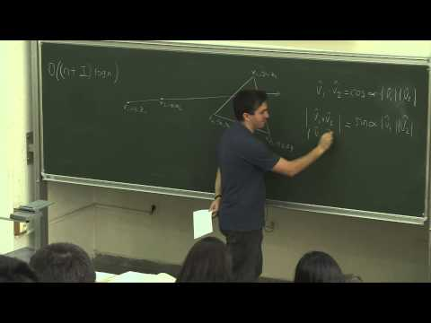 CENG773 - Computational Geometry - Lecture 1.1