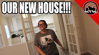 Miss Bird Gives The Tour Of Our NEW HOUSE!!!