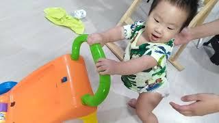 태어난지 12개월 이른둥이 아기 걸음마 연습 발달기록 …