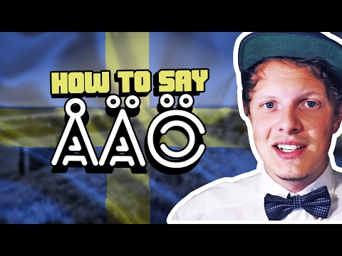 HOW TO SAY ÅÄÖ | 1000 Sub Celebration