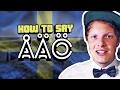 HOW TO SAY ÅÄÖ | 1000 Sub Celebration