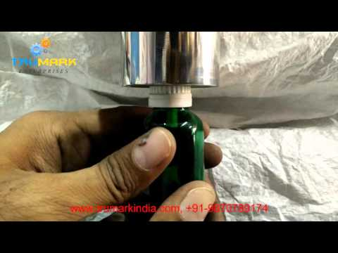 manual mini bottle capping machine - low cost small scale model